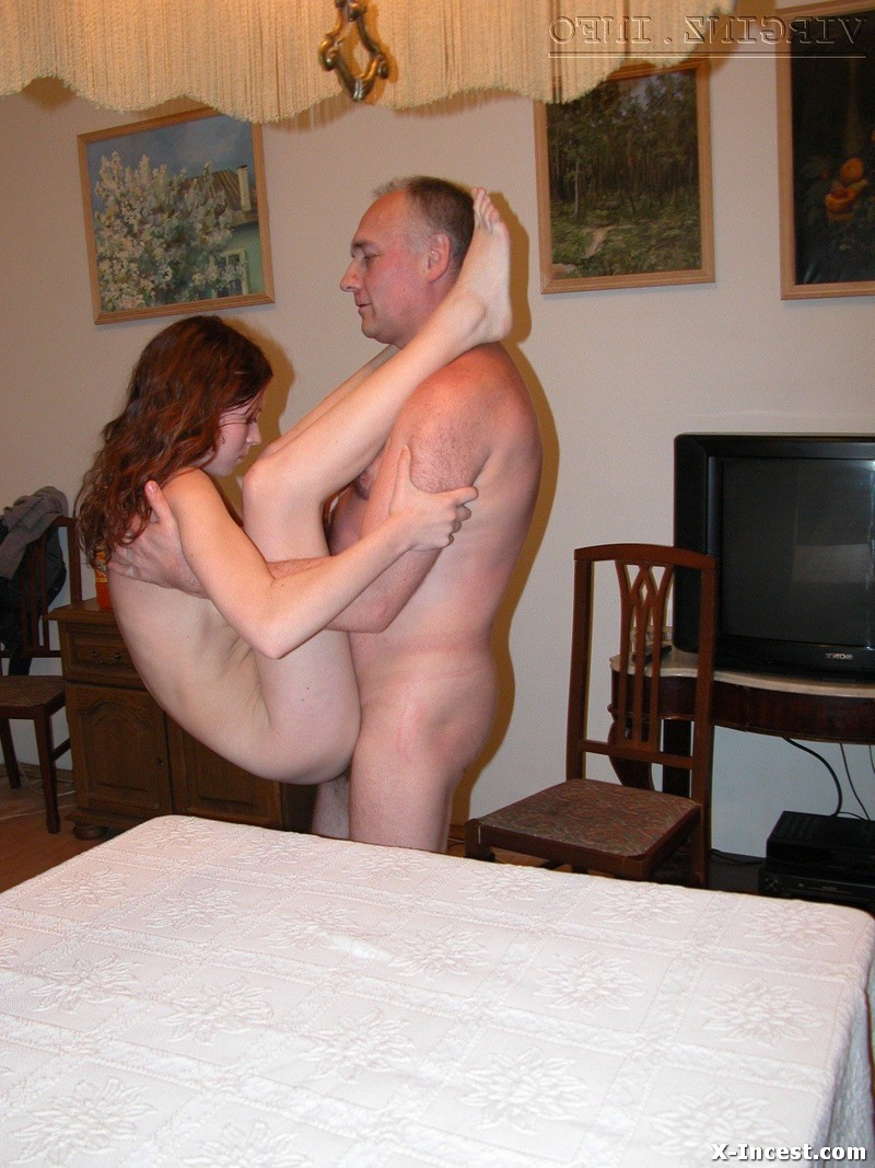 Cute girl with dad nude 7