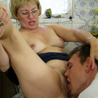 Mother fucked by her son