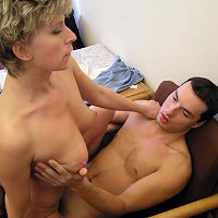Mature mother and son home porn photos
