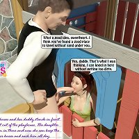real 3d dad fuck 3d daughter